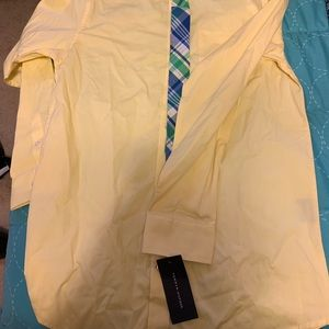 Tommy Hilfiger dress shirt with tie